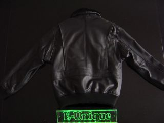 VINTAGE AVIREX TOP GUN LEDERJACKE LEATHER JACKET BLOUSON VTG.