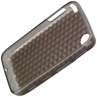 Diamond Design Silikon Case trsp black f LG GT400 Viewty Smile Schutz