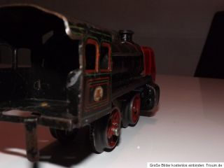 Lok Doll & Cie Spur 0 Lokomotive ähnlich wie Bing o. Märklin Uralt