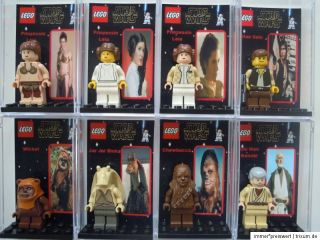 Sammler Box Vitrine Showcase Display ideal für Lego Star Wars Figuren