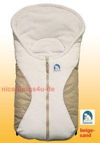 Baby Fußsack für Kindersitz Babyschale Autositz Maxi Cosi Römer