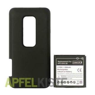 MEGA 3500mAh Akku Batterie Extended HTC EVO 3D #973