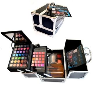 SUPER Beauty Make up Collection SCHMINKKOFFER gefüllt 68 teilig (b964