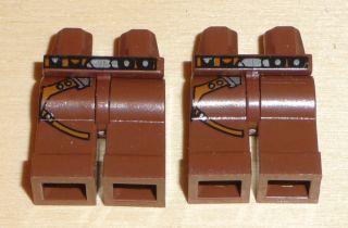 Nr.4344 Lego 970c00pb23 Minifig 2 Beine SW Han Solo