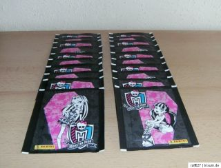 PANINI   MONSTER HIGH SAMMELSTICKER   20 TÜTEN (100 STICKER)
