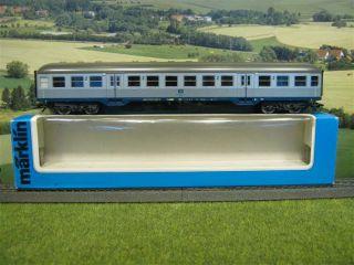 Märklin 4256 H0 Personenwagen Silberling 2. Kl. der DB mit OVP/ E981