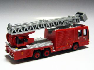 LAWSON 1/140 Hino Aerial Ladder Fire Truck (Morita Super Gyro Ladder