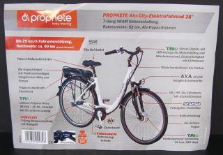 Fahrrad Prophete Keep Moving Alu City Elektrofahrrad 28 NEU