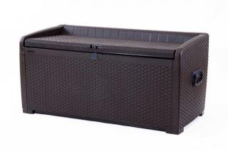 Tepro Auflagenbox XL Rattan Style
