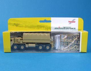 Herpa Minitanks 740562 H0 M977 LKW 10t 8x8 US Army HO 1 87 Roco 477