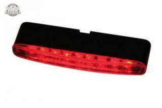 LED Mini Rücklicht Stripe ECE rotes Glas Motorrad Quad ATV