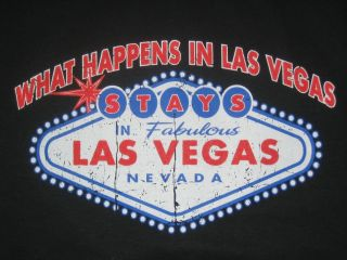 WHAT HAPPENS IN LAS VEGAS Casino Gamble Adult Humor Party Poker Funny