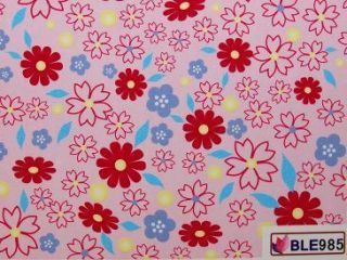 Nail Art Sticker One Stroke Tattoo BLE 985 Blumen