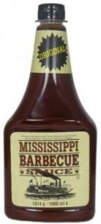 Mississippi Barbecue Sauce   Original (1814g) (0.77 o pro 100g