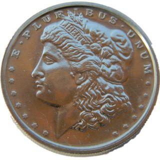 NMS   2011   Morgan Dollar   1oz.av. 995fein ZINK Zinkbarren