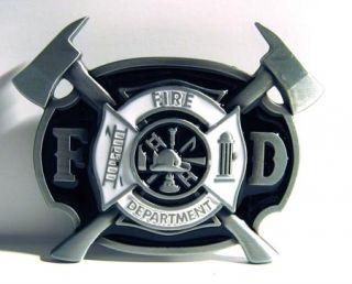 Fire Department Buckle, US  Feuerwehr Logo, Firefighter