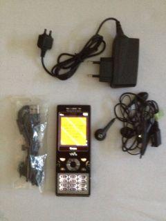 Sony Ericsson Walkman W995   Progressive Black (Ohne Simlock) Handy