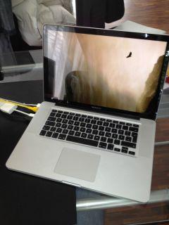 Apple MacBook Pro Unibody 39,1cm (15,4 Zoll) Laptop   MB986D/A (Juni