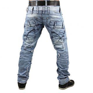CIPO&BAXX Herren Jeans C 989 Hose Clubwear EYECATCHER Alle Größen 2