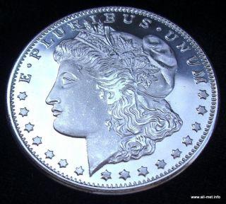 Morgan Dollar 1oz.tr 999fine silver Silberbarren NEU