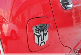 Transformatoren Emblem Badge Sticker Chrome Autobot 3D