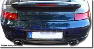 Auspuff Endrohre Porsche 911 996 3.4 + 3.6 C2 C4 Bj.97 01 Edelstahl