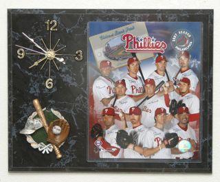 2007 Philadelphia Phillies Team Picture Clock