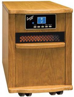 Comfort Zone CZ2011O Infrared Quartz Heater, Oak