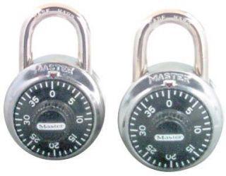 Master Lock 1500T 2 Pack Combination Alike Locks