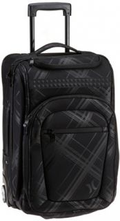 Hurley Mens Manzana Carry On Luggage, Black, One Size