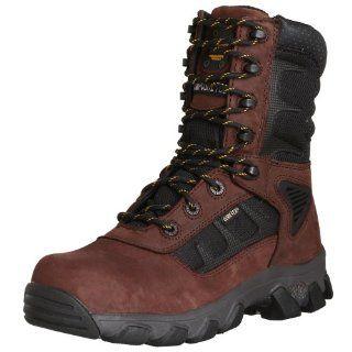Mens Hybrid 8 Heavy Duty Lightweight Steel Toe Work Boot Shoes
