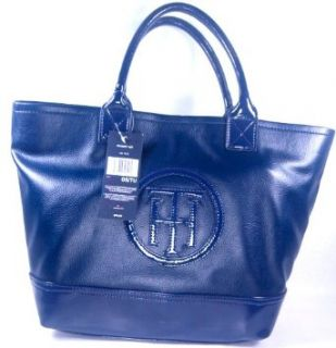 Womens Tommy Hilfiger Handbags Sm Tote navy Blue