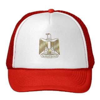 Africa Egypt flag logo Eagle emblem gifts Mesh Hat
