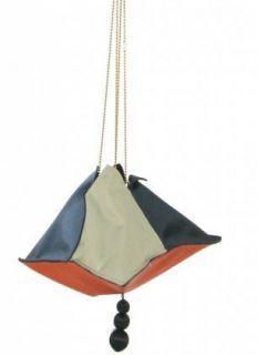 Jean Paul Gaultier Handbag   Multi Color Satin Evening Bag