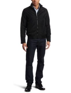Perry Ellis Mens Bomber Jacket Clothing