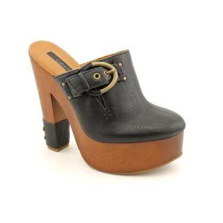 Calvin Klein Jeans Talisa Mules Heels Shoes Black Womens Shoes