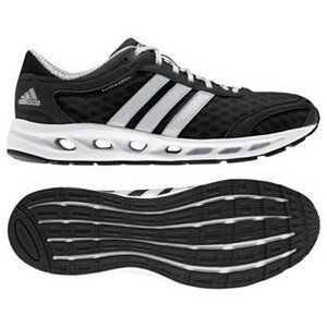 adidas Climacool Solution   Mens   Black/Metallic Silver/White Shoes