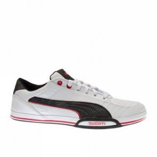 Puma Trainers Shoes Mens 65cc Lo Ducati White Sports