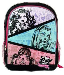 MONSTER HIGH LARGE BACKPACK Sports & Outdoors