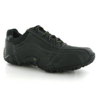 com Caterpillar Pritchard Black Leather Mens Shoes Size 10 US Shoes