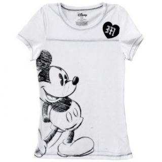 Disney   Mickey Mouse   Sketch Ladies T Shirt   X Large