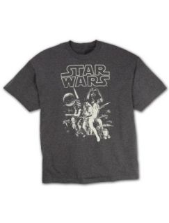 Star Wars Vintage Big & Tall Screen T Shirt Clothing