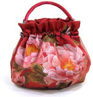 Korean Traditional Flower Design Tote Bag Shoes
