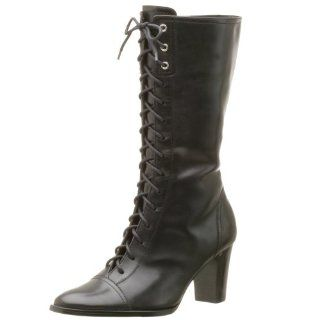 Etienne Aigner Womens Kraft Boot,Black Leather,11M Shoes