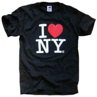 I Love New York T Shirt, Officially Licensed Crewneck