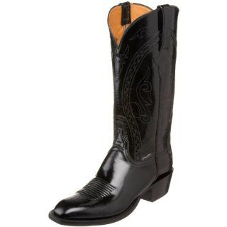 Lucchese Classics Mens L1510.13 Western Boot,Black,9.5 EE US Shoes