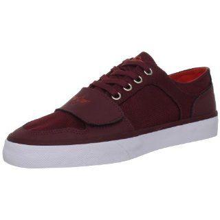 Creative Recreation Mens Cesario LO XVI Sneaker,Maroon,14 M US Shoes