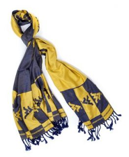 Official NCAA West Virginia Mountaineers Viscose Scarf
