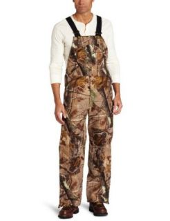 Carhartt Mens Work Camo Bib Overall: Clothing