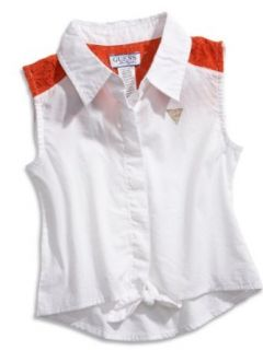 GUESS Kids Girls Little Girl Sleeveless Tie Top Clothing